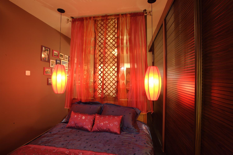 东南亚风格小户型装修卧室设计图
