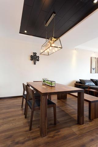 160平现代中式设计餐厅布置图