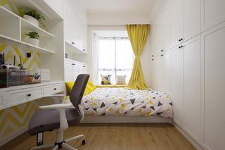 107㎡北欧风格家书房设计图