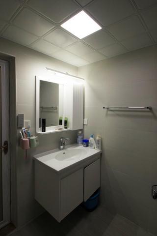 107㎡北欧风格家洗手台图片