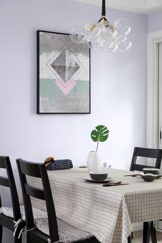 北欧风三居之家餐厅设计图