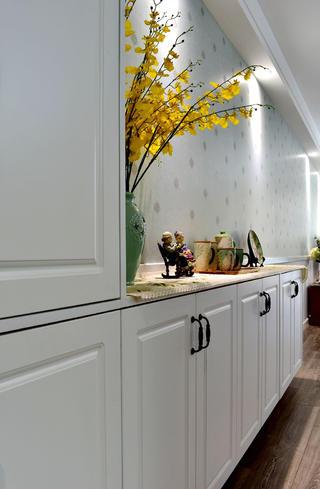 美式风格二居装修鞋柜图片