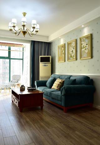 美式风格二居装修沙发图片
