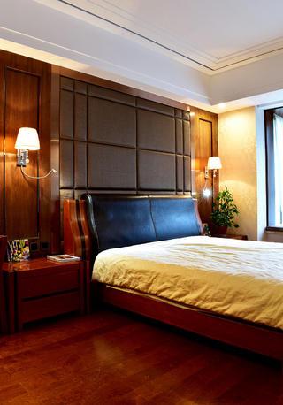 160平米中式风格装修卧室搭配图