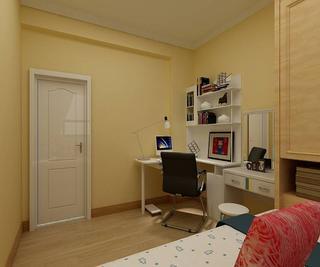 简约二居装修书桌图片