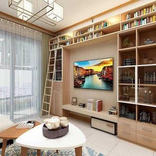 100㎡三居室设计 日式小调
