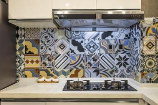 混搭二居之家厨房瓷砖图片