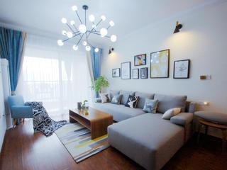 北欧二居室装修沙发图片