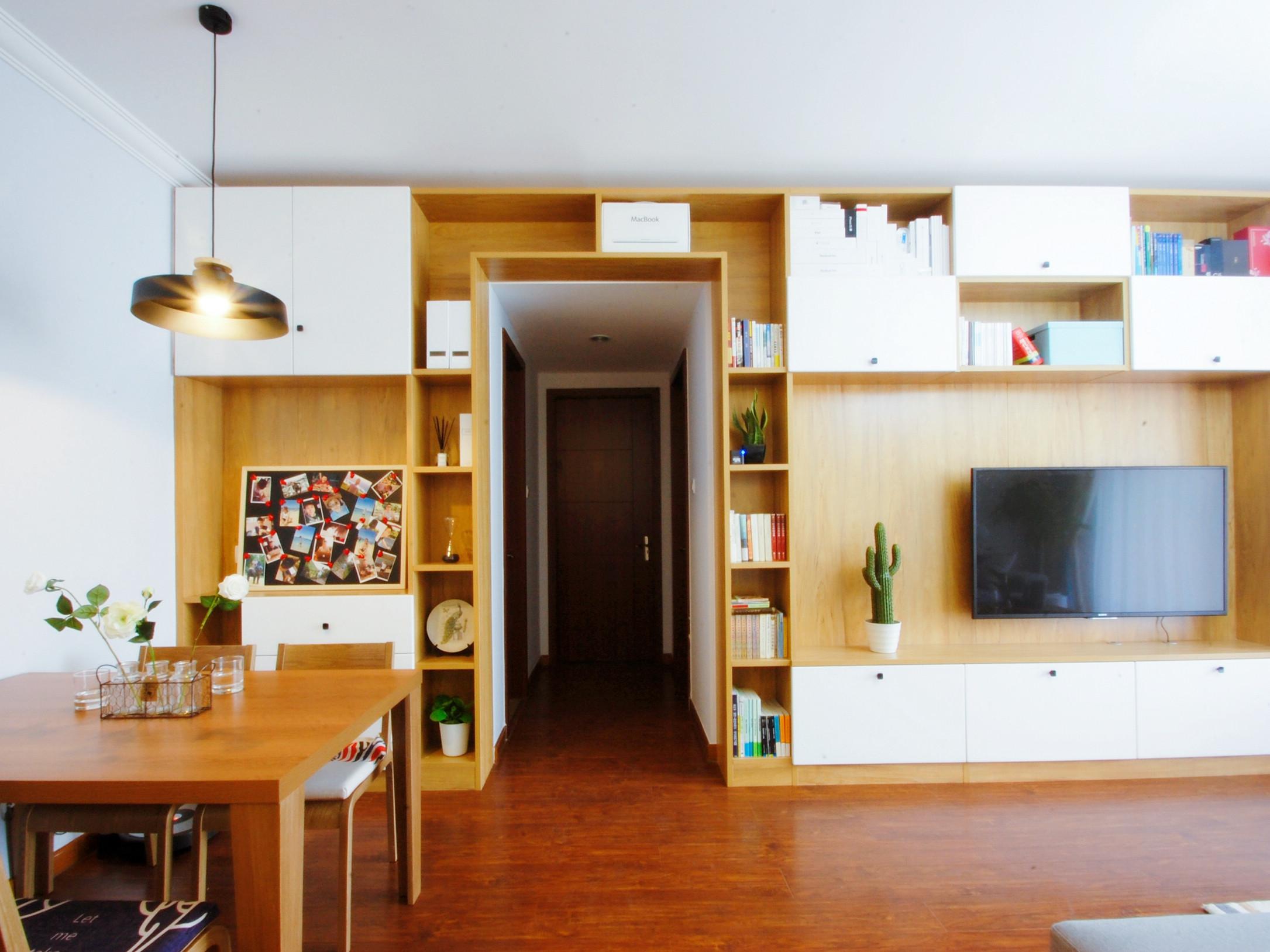 北欧二居室装修过道图片
