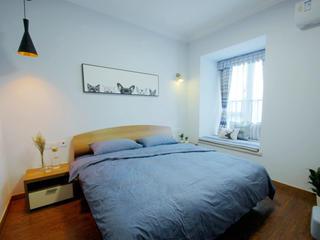 北欧二居室装修卧室布置图