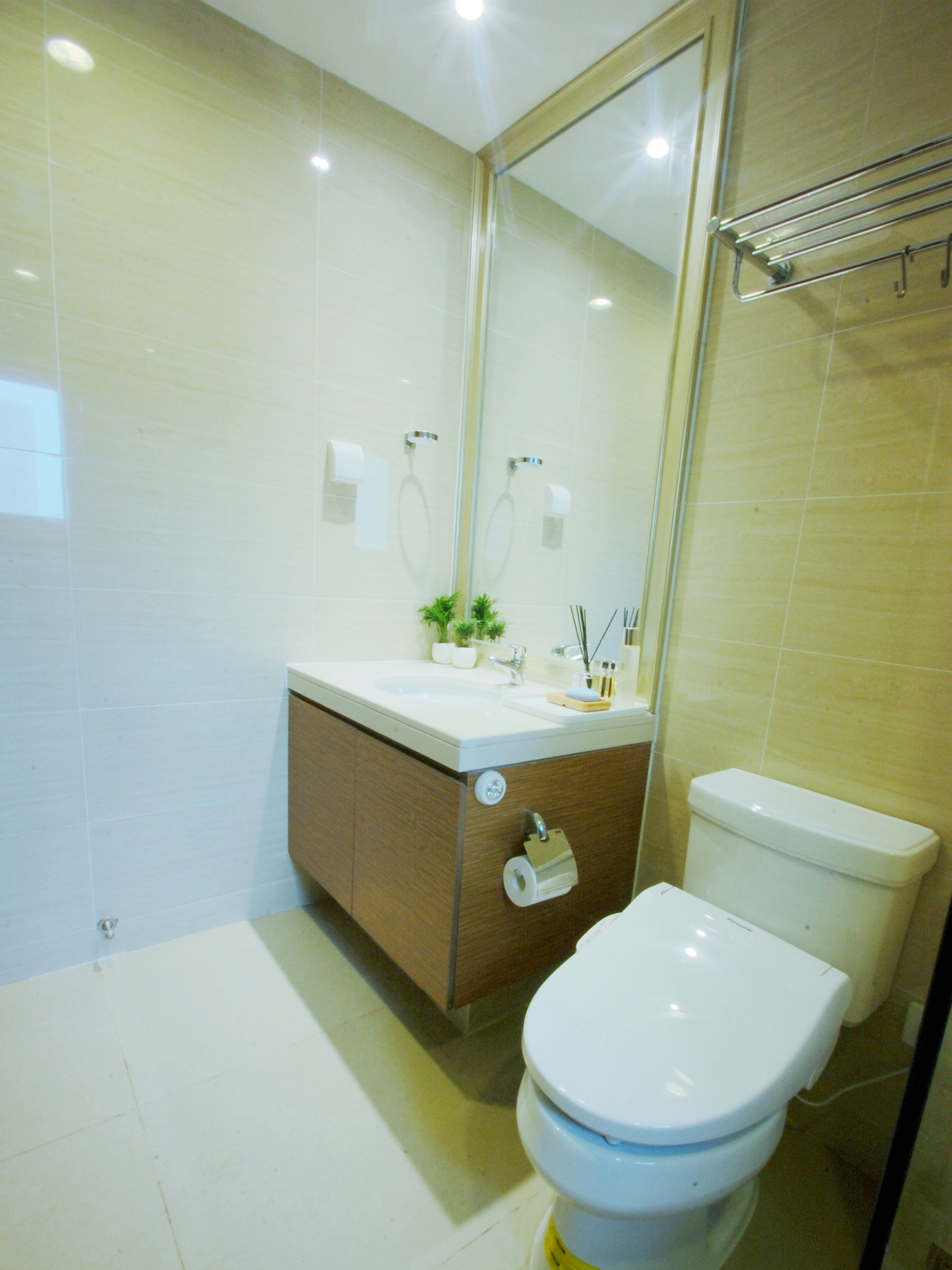 北欧二居室装修卫生间图片
