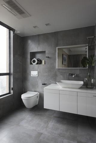 130平现代简约家洗手台图片
