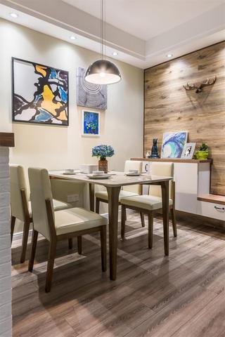 北欧二居装修餐桌椅图片