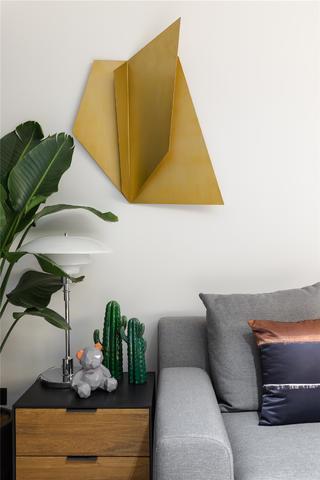 现代简约三居之家墙面装饰