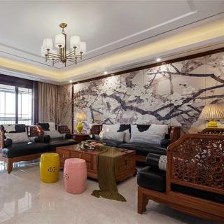 中式风格四房装修设计图