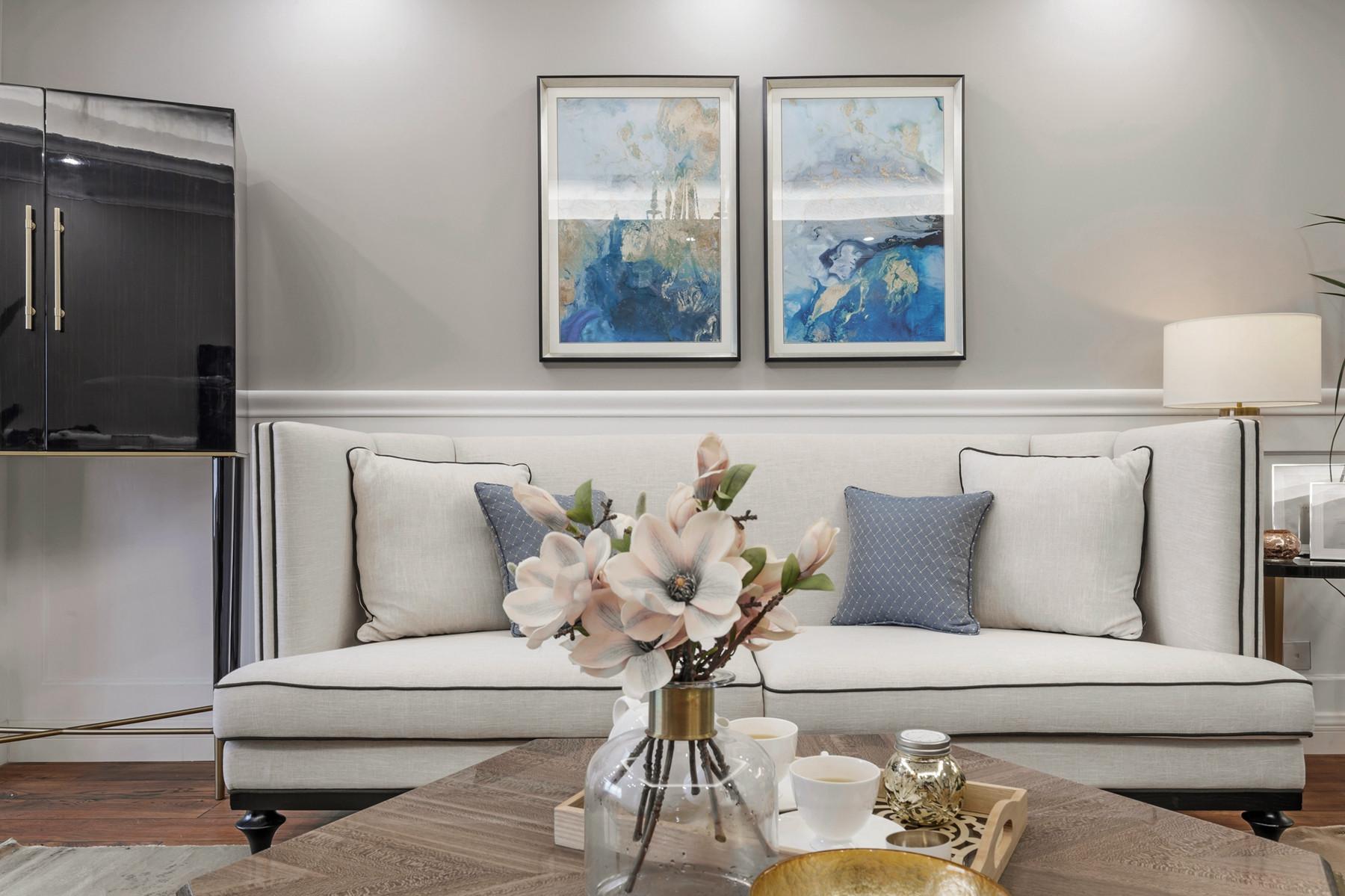 180㎡美式装修沙发图片