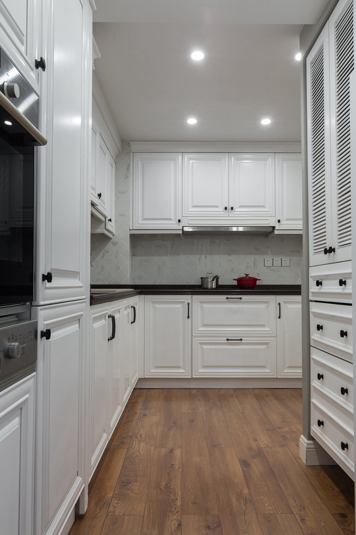 180㎡美式装修厨房设计图