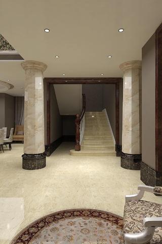 现代欧式别墅装修楼梯设计