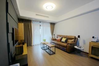 简约风格二居装修沙发背景墙图片