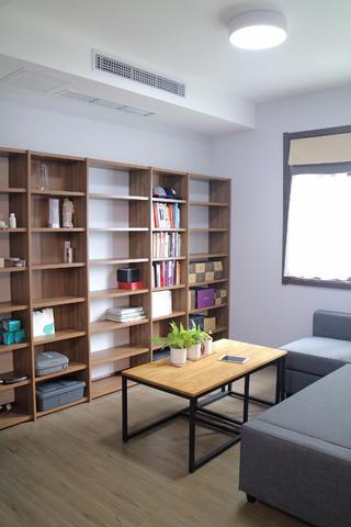 简约风格二居装修书房布置图