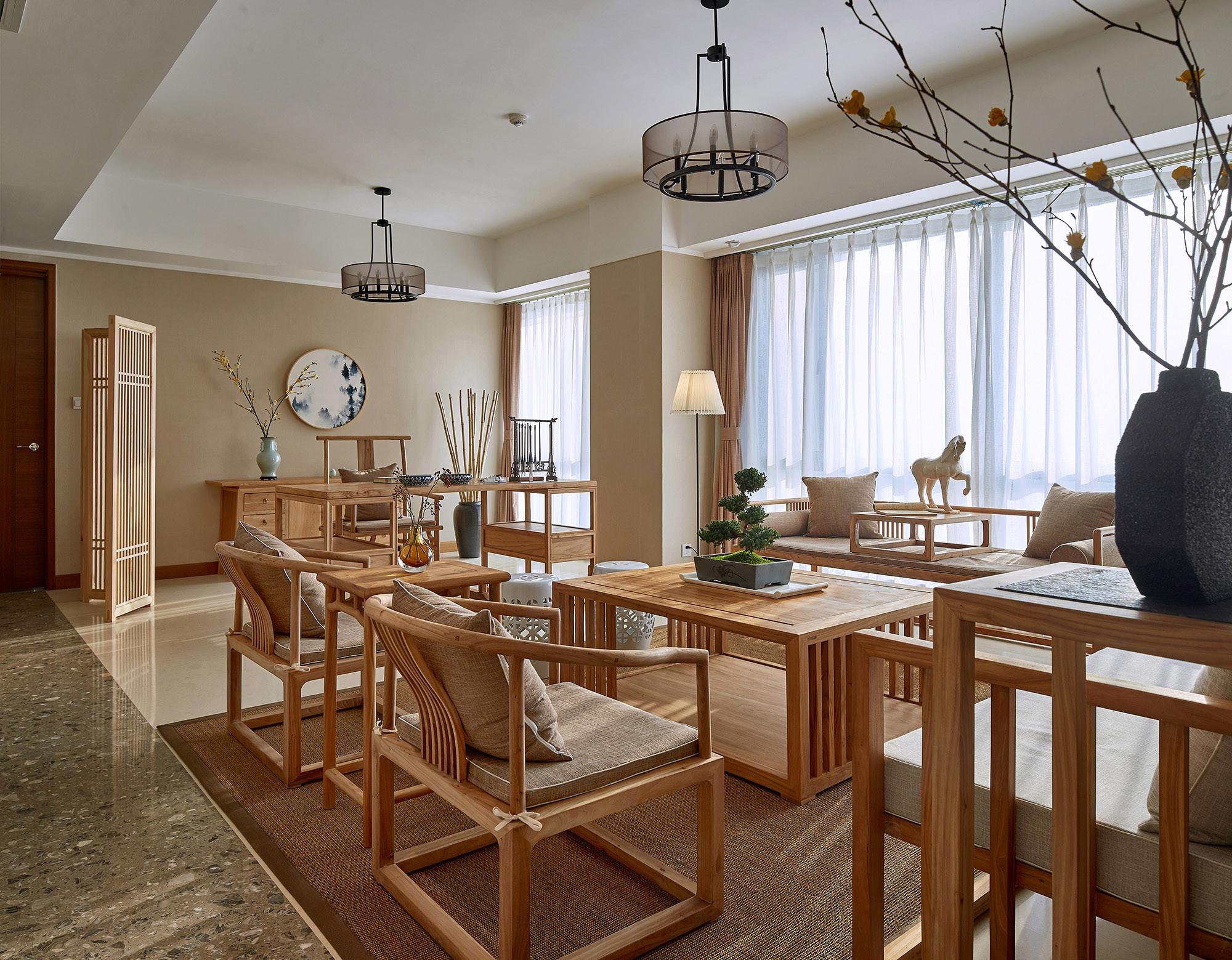 150㎡中式装修沙发椅图片