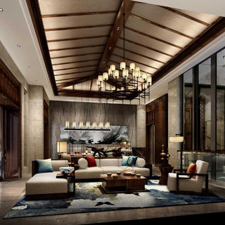 东南亚风格别墅装修效果图