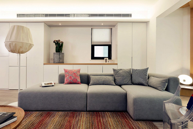 北欧风格三居室装修沙发图片