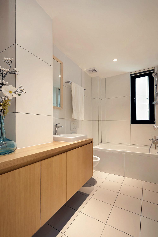 北欧风格三居室装修卫生间设计图
