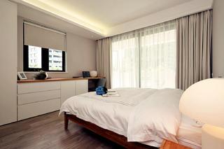 北欧风格三居室装修窗帘图片