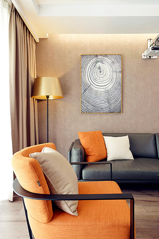三居室简约风格家沙发椅图片