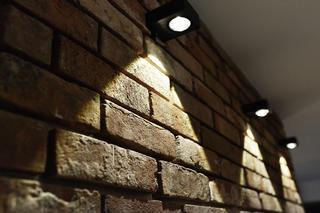 110平Loft风格装修墙面灯光特写