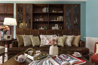 美式风格三居之家沙发图片