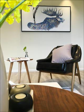 北欧三居装修客厅局部图