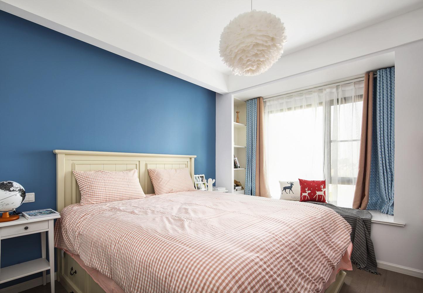 二居室北欧之家卧室效果图
