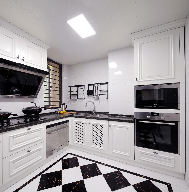 165㎡欧美风装修厨房效果图