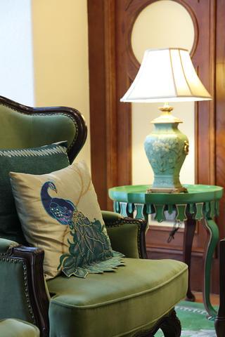 美式别墅装修客厅小角