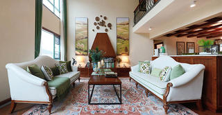 美式别墅装修客厅设计图