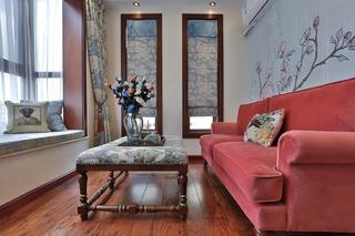 古典美式复式装修休闲室布置图