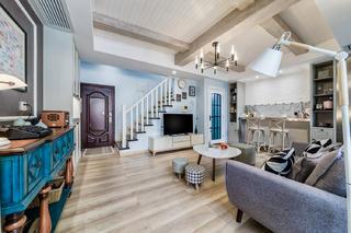 复式北欧风格家楼梯图片