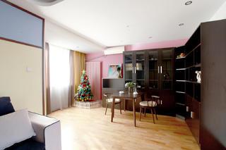 混搭二居室装修餐厅设计图
