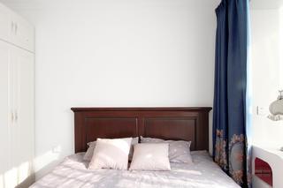混搭二居室装修窗帘图片
