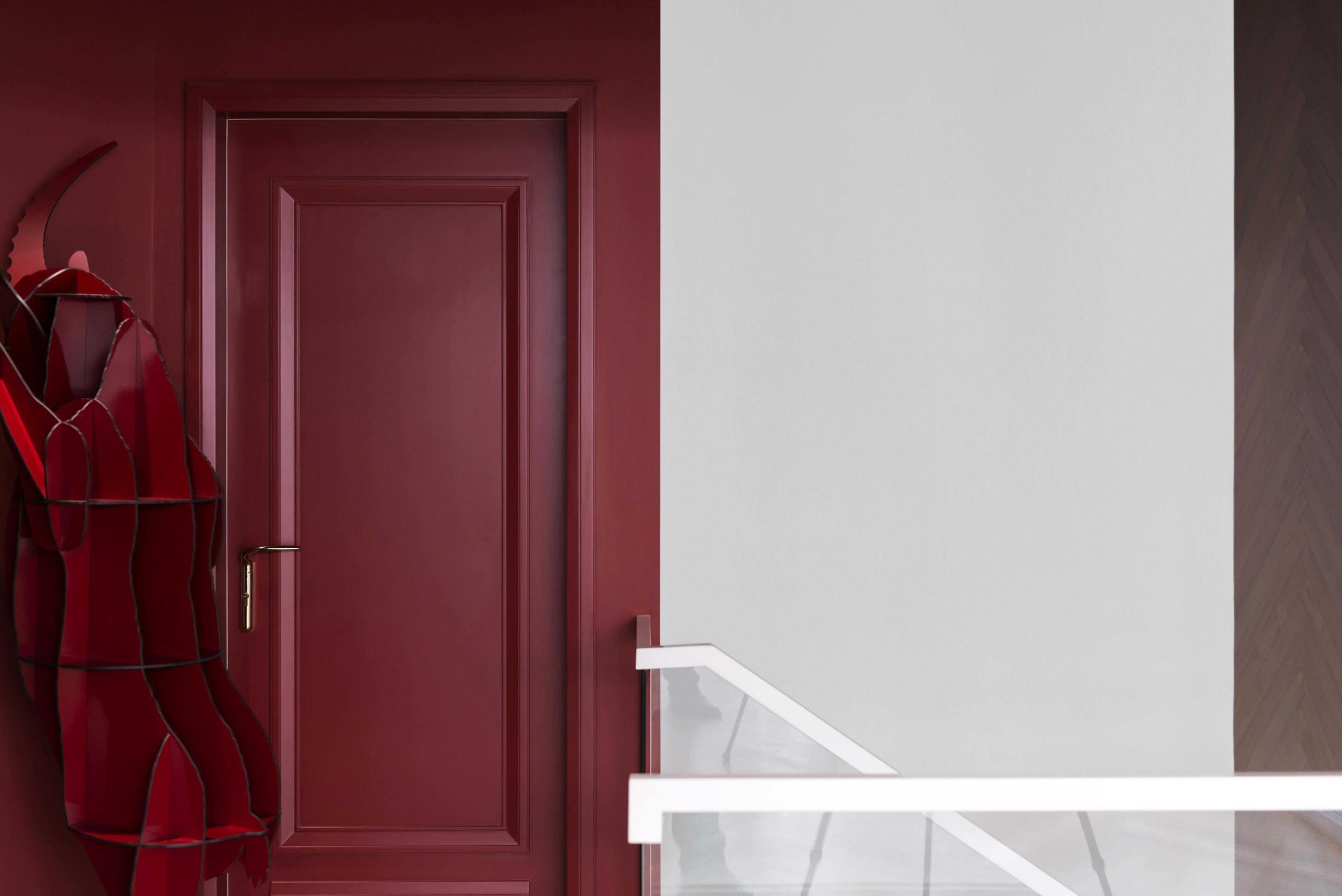 现代别墅装修门廊装饰