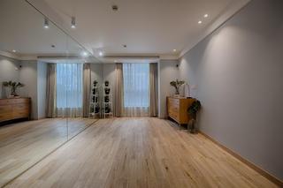 單身白領的北歐家瑜伽室效果圖