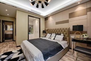 120㎡现代风格家床头软包图片