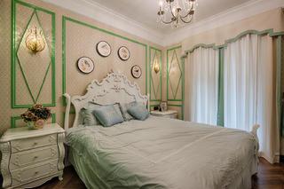 新古典裝修床頭柜圖片