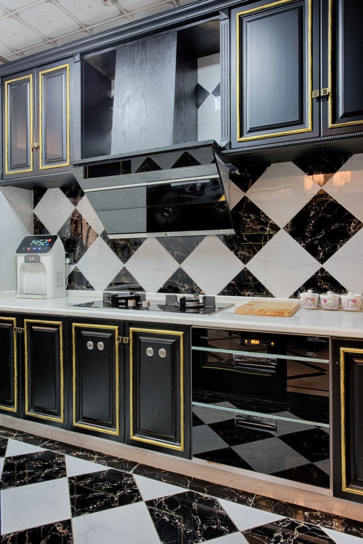 新古典装修厨房设计图