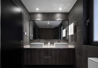 现代二居装修洗手台图片
