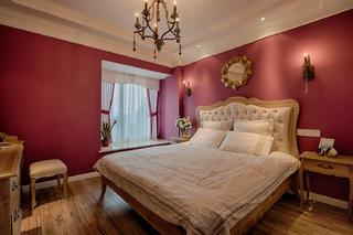 美法混搭裝修臥室設計圖
