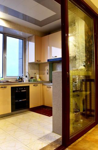 160平米中式风格装修厨房图片