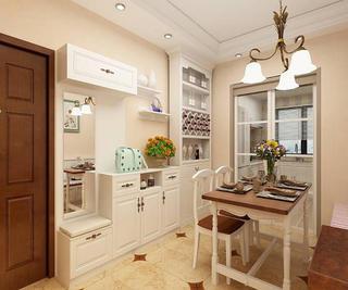 三居室美式装修餐厅效果图